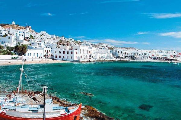 Photo - Périples dans les Cyclades depuis Athènes - Mykonos et Paros Circuit Périples dans les Cyclades depuis Athènes - Mykonos et Paros3* Athenes Grece