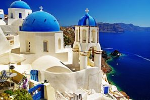 Grece-Athenes, Circuit Combiné d'îles Mykonos-Paros-Santorin en 15 jours 2*