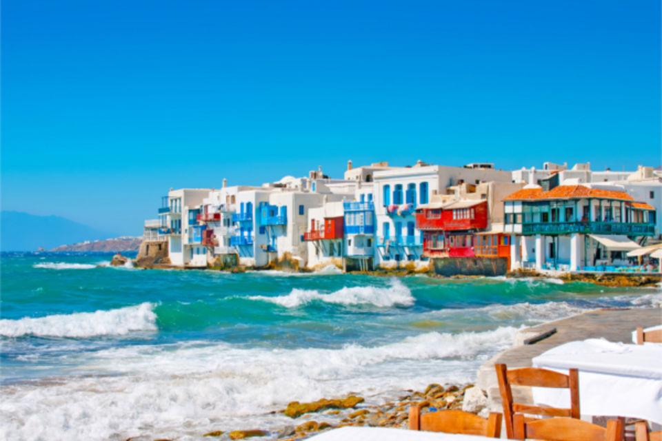 Circuit Combiné 3 îles Mykonos - Paros - Santorin en 15 jours - arrivée Athènes Mykonos Iles Grecques