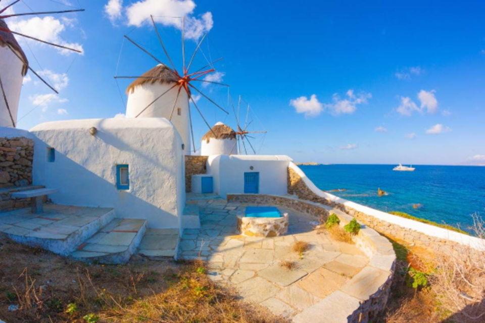 Circuit Echappée depuis Paros depuis L'hôtel Asteras Paradise Les Cyclades Iles Grecques
