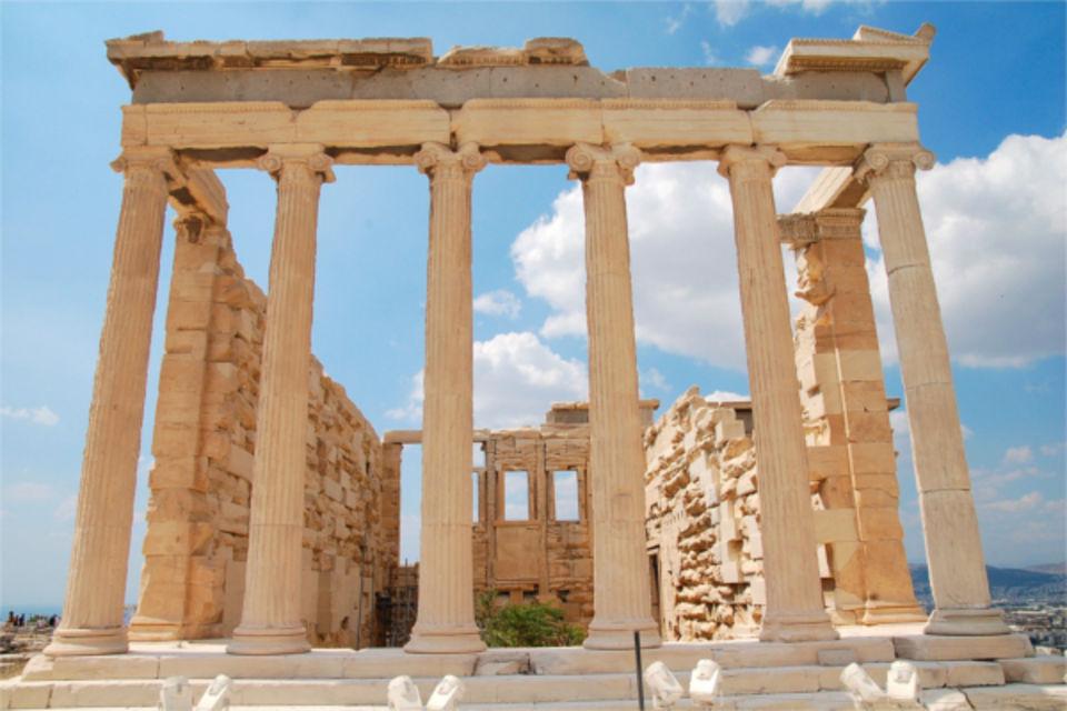Circuit FRAM Grand tour de Grèce Région d'Athènes & Eubée Grece