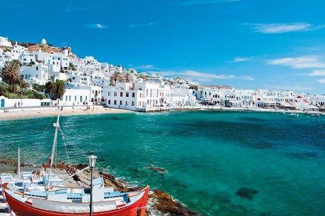 Grece-Athenes, Circuit Périples dans les Cyclades depuis Athènes - Mykonos et Paros 4*