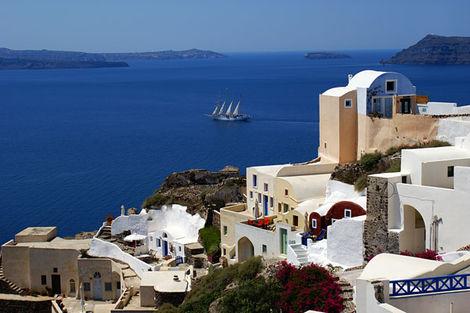 Grece-Athenes, Circuit Combiné 2 îles : Paros - Santorin en 8 jours 3*