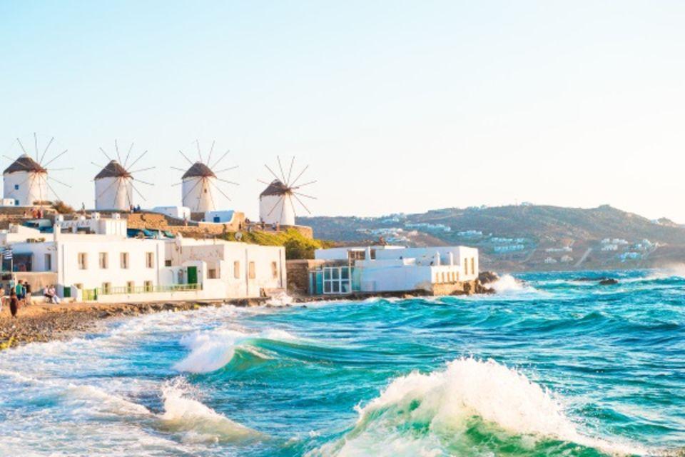 Circuit Combiné 2 îles : Mykonos - Paros en 8 jours Mykonos Iles Grecques