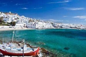 Grece-Mykonos, Circuit Splendeurs des Cyclades 3*