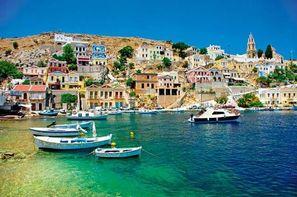 Grece-Rhodes, Circuit Echappée Rhodienne- depuis le Club Héliades Cyprotel Faliraki Resort 4*