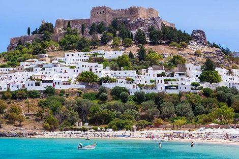 Grece-Rhodes, Circuit Périple depuis Rhodes 2 îles en 1 semaine : Rhodes et Patmos 4*