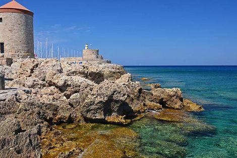 Grece-Rhodes, Circuit Périple depuis Rhodes 2 îles en 1 semaine - Rhodes et Symi en 4*