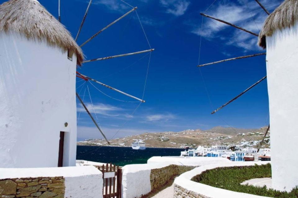 Circuit Découverte des Cyclades Santorin/Naxos ou Naxos/Santorin Santorin Iles Grecques