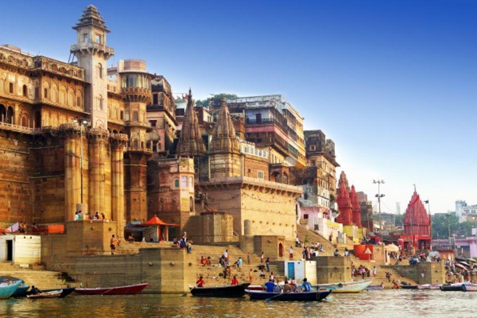 Circuit Du Taj Mahal à Bénarès : Rajasthan et Merveilles du Gange Delhi Inde