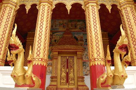 Laos-Luang Prabang, Circuit Indispensable Laos + Extension Sud