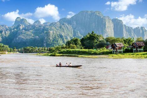 Laos-Vientiane, Circuit Splendeurs du Laos et Extension Cambodge 3*