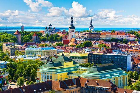 Lituanie-Vilnius, Circuit Découverte des Pays Baltes : Vilnius, Riga et Tallinn