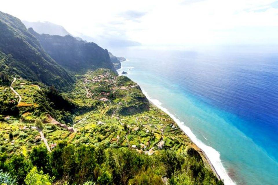 Circuit Madère, l'île aux fleurs Funchal Madere