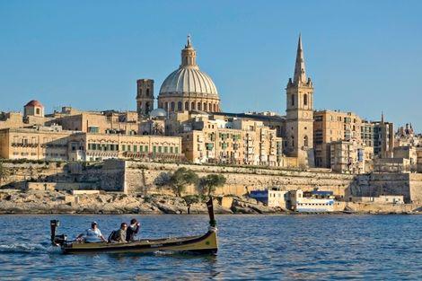 Malte-La Valette, Circuit Découverte de Malte au départ de l'hôtel Gillieru 3*