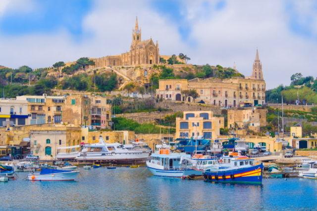 Malte : Circuit FRAM Couleurs de Malte (Sunflower)