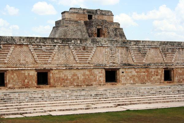 Temple a Uxmal Circuit Les inévitables du Mexique Mexico Mexique