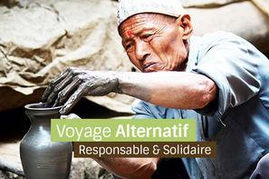 Nepal-Kathmandou, Circuit Nepal solidaire en terre Hymalayenne 3*