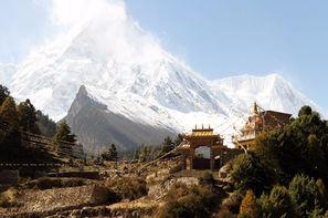 Nepal-Kathmandou, Circuit Nepal solidaire en terre Himalayenne 3*