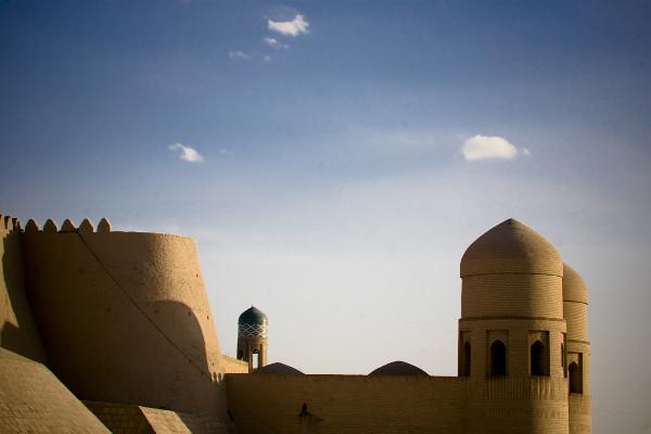 murs de la vieille ville de Khiva Circuit Les Incontournables de L'Ouzbekistan Tashkent Ouzbekistan