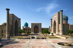 Ouzbekistan-Tashkent, Circuit Sur les traces de Tamerlan