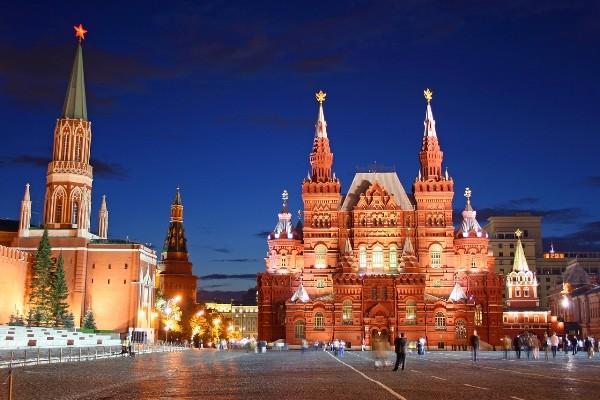 Vente flash EB Réveillon Moscou Circuit Saint-Sylvestre à Moscou 4*