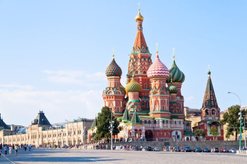 Circuit De Moscou à St Petersbourg Moscou Russie