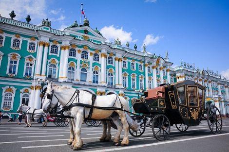 Russie-Moscou, Circuit Magie de la Russie Moscou - Saint Petersbourg 4*