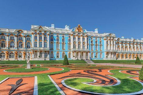 Russie-Saint Petersbourg, Circuit Merveilles de Russie