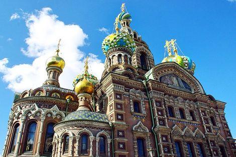 Russie-Saint Petersbourg, Circuit Echappée à Saint Petersbourg 4*