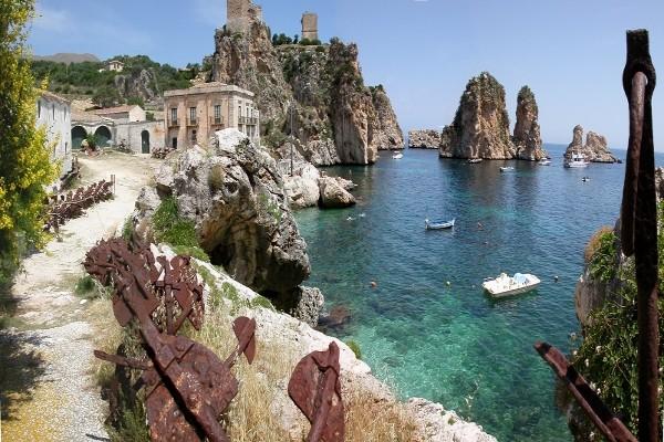 Vue mer Circuit Sicile Magique Palerme Sicile et Italie du Sud