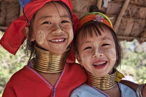 Thailande-Bangkok, Circuit Des Temples Khmers aux femmes girafes 3* sup