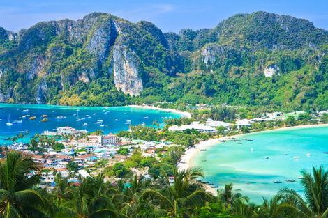 Thailande-Bangkok, Circuit Les Essentiels de la Thaïlande & farniente à l'Holiday Inn Resort Phi Phi Island 4*