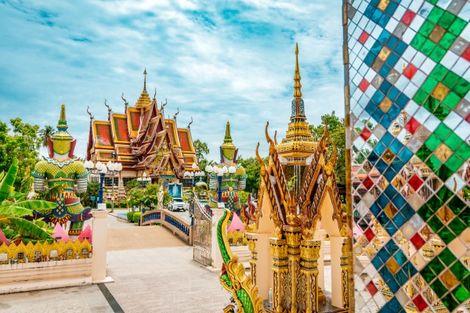 Thailande-Bangkok, Circuit Trésors de Thailande & extension Cha Am