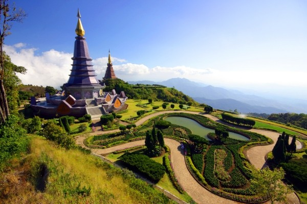 Paysage vers Chiang Rai Circuit Trésors du Siam3* Bangkok Thailande
