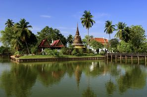 Thailande-Bangkok, Circuit Beautés du Siam + extension Cha-Am 3*