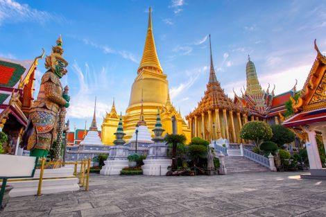 Thailande-Bangkok, Circuit Trésors de Thaïlande 3* & Koh Phi Phi 4*