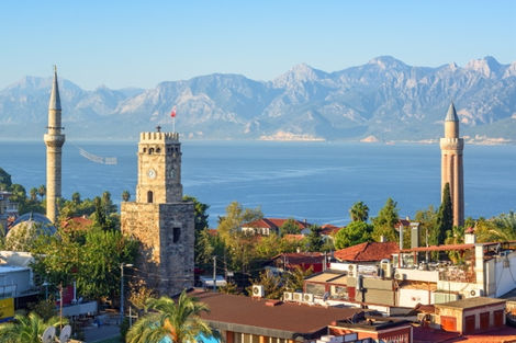 Turquie-Antalya, Circuit Merveilles Méditerranée et Cappadoce 4*