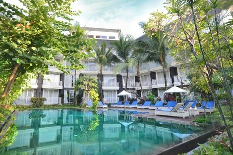 Bali-Denpasar, Combiné hôtels - Balnéaire à Kuta à l'hôtel Fontana + The Ubud Village Hotel 4*