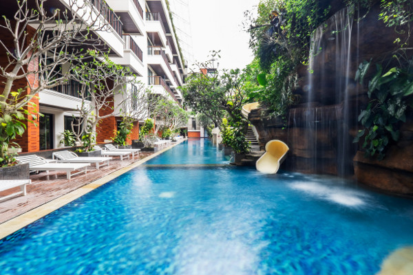 Jambuluwuk Oceano Seminyak - - Jambuluwuk Oceano Seminyak + The Ubud Village Hotel Combiné hôtels - Jambuluwuk Oceano Seminyak + The Ubud Village Hotel4* Denpasar Bali