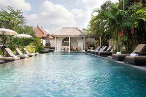 Bali-Denpasar, Combiné hôtels Ubud Village + Lembongan Beach + Sanur Paradise 4*