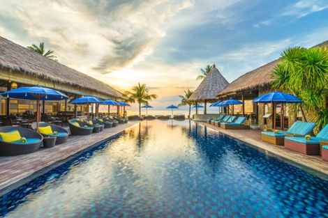 Bali-Denpasar, Combiné hôtels Ubud Village Hotel + Lembongan Beach + Prime Plaza Hotel Sanur 4*