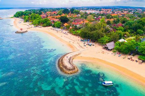 Bali-Denpasar, Combiné hôtels - FRAM Des rizières d'Ubud aux plages de Sanur 4*