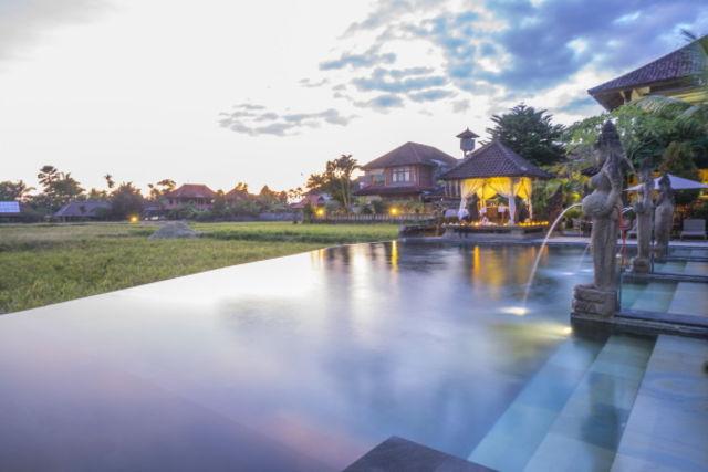 Bali : Combiné hôtels - Balnéaire à Kuta à l'hôtel Fontana 4* + Cendana Ubud Resort & Spa 3*
