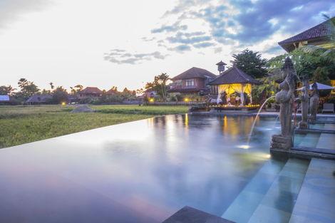 Bali-Denpasar, Combiné hôtels - Balnéaire à Kuta à l'hôtel Fontana 4* + Cendana Ubud Resort & Spa 3*