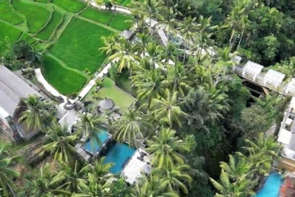 Vue panoramique - - Balnéaire au Prama Sanur Beach 4* Sup + Wapa di Ume 4* à Ubud Combiné hôtels - Balnéaire au Prama Sanur Beach 4* Sup + Wapa di Ume 4* à Ubud Denpasar Bali