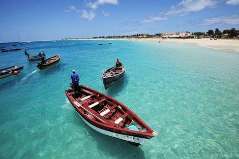 Cap Vert-Ile de Sal, Combiné hôtels Périple Sal, Santiago & Fogo