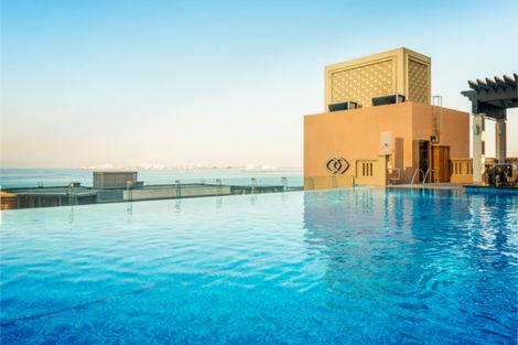 Dubai et les Emirats-Dubai, Combiné hôtels 2 Iles : Dubaï + Maldives Sofitel Dubaï Jumeirah Beach 5* + Sun Island Resort & Spa 5*