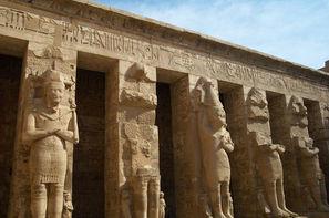 Egypte-Louxor, Croisière sur le Nil sans excursions et séjour à l'hôtel Magic Beach 4*