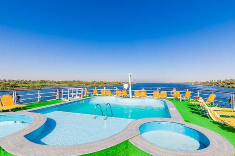 Egypte-Louxor, Combiné croisière et hôtel Au fil du Nil et Framissima Continental Hurghada (14 nuits) 5*